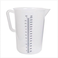 Measuring Jug 3LT Blue Lines