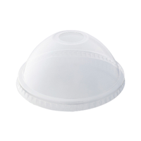 Hikleer PET Cold Cup Dome Lid - 100sleeve