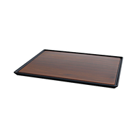 Zicco Melamine Anti-Slip Tray Dark