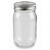 300ml Glass Jar with Lid