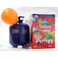Helium Balloon Kit - 50 balloons