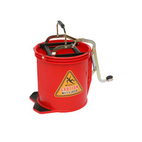 Edco Wringer Bucket Red