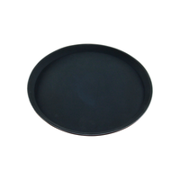 Round Black Tray 280mm