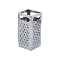 Chef Inox Grater S/S 4 Sided Square