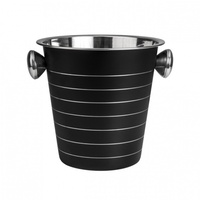 Moda Wine Bucket Black 18/8