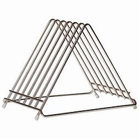 Cutting Board Holder Stainless Rack 6 Slot