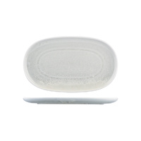 Willow Moda Porcelain Oval Coupe Plate