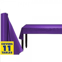 Plastic Table Cover Purple 1.22m x 30.48m