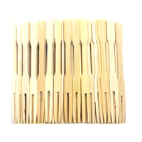 Cocktail Fork - Wooden 100pk