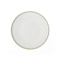 Soho Plate White Pebble 200mm