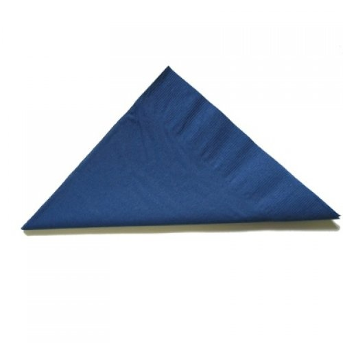 2ply Dinner Napkin - Dark Blue 100pk
