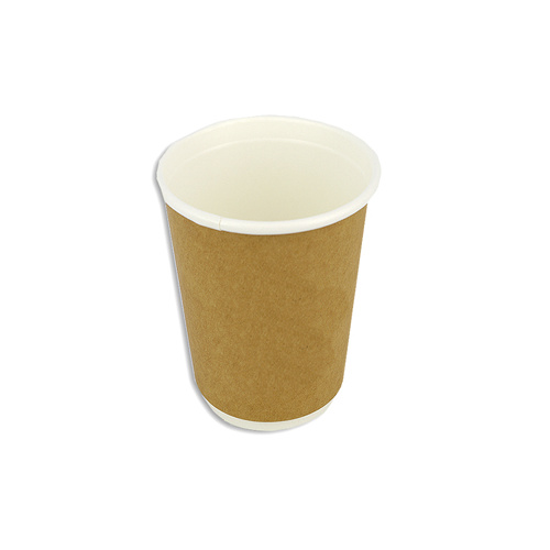 Coffee Cup 16oz Double Wall Brown Ctn 500