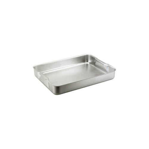 Chef Inox Alum Roasting Dish (Recessed Handles) – 368X267X70mm