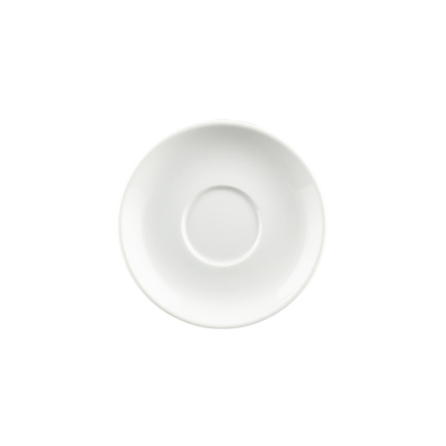 Rockingham Long Saucer 142mm - White